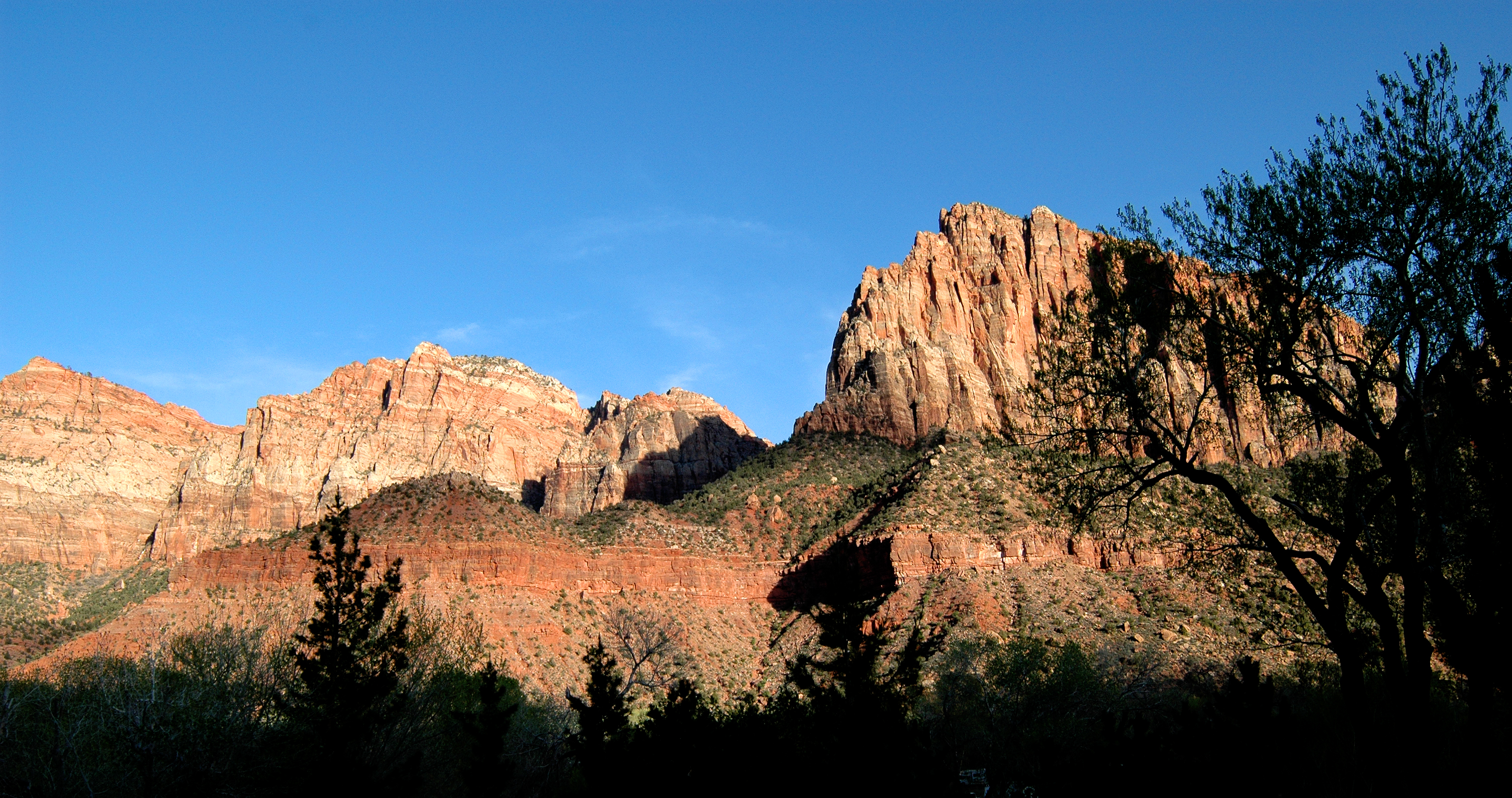 Zion Mountains