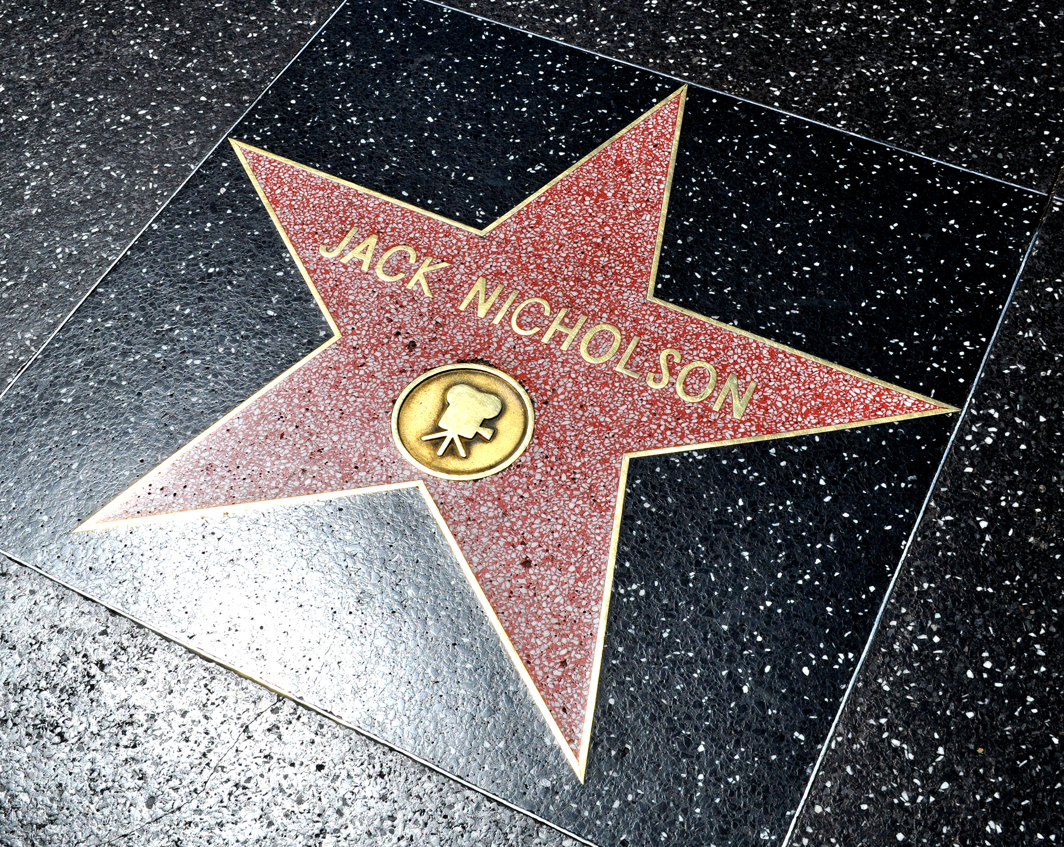 Jack Nicholson Star, Walk of Fame
