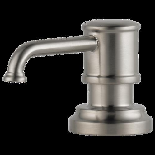 Artesso Soap Dispenser in Stainless Steel