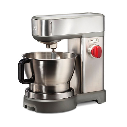 Stand Mixer (box includes red, black & s/s knobs)