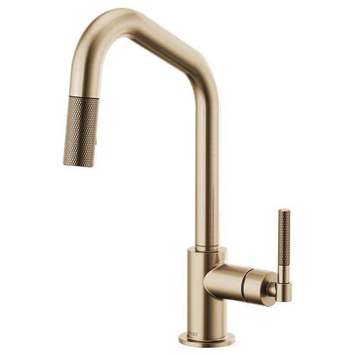 Litze Kitchen faucet in Lux Gold