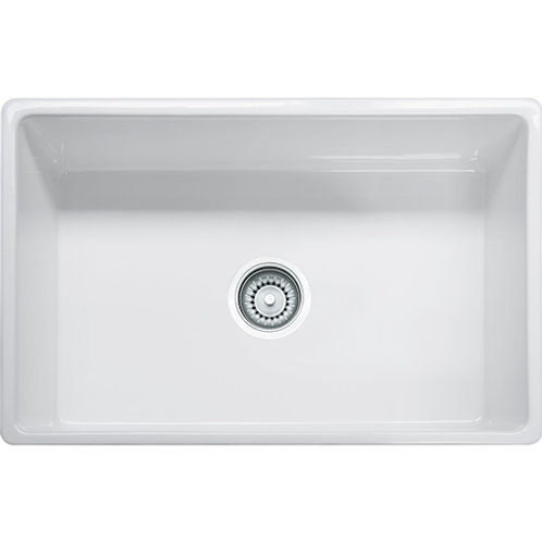 "30"" Apronfront Sink in White"
