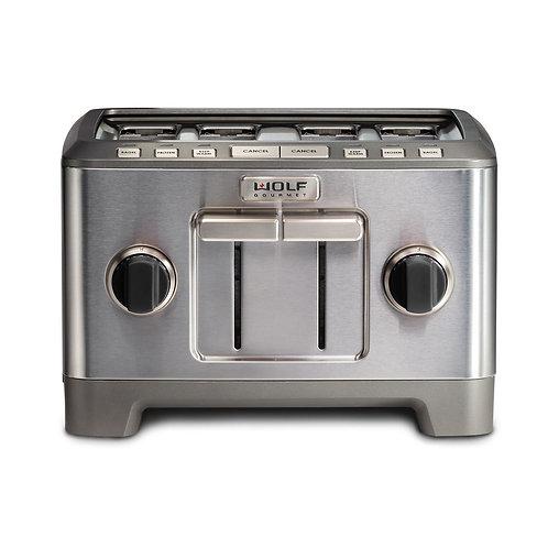4-Slice Toaster (Black Knobs)