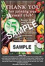 Dehoff's market coupon sample