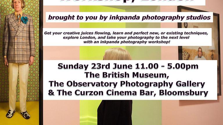 Portrait Photography Workshop & Gallery Tour.     Tickets: £55.00
