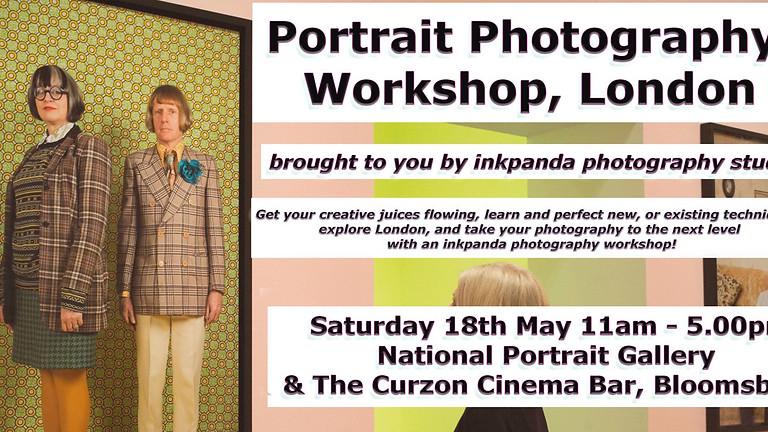 Portrait Photography Workshop & Gallery Tour. Tickets: £70.00