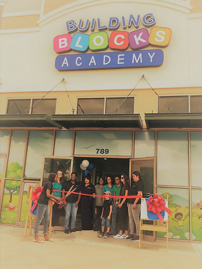 Private Preschool School Owner Grand opening of daycare facility - Ribbon Cutting