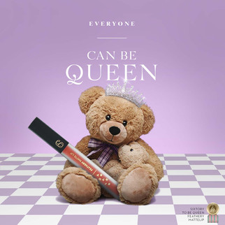 Sixtory to be queen Teddy bear