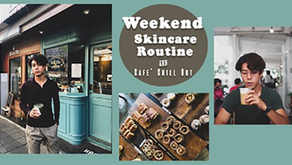 Weekend Skin Routine for Men