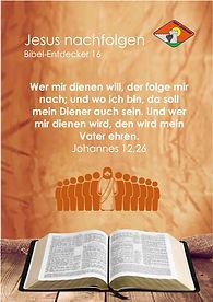 K20 klein Jesus nachfolgen BibelEntdecke