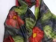 Echarpe de seda Flores de Uma Paixão