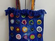 Bolsa Azul Mandalinhas