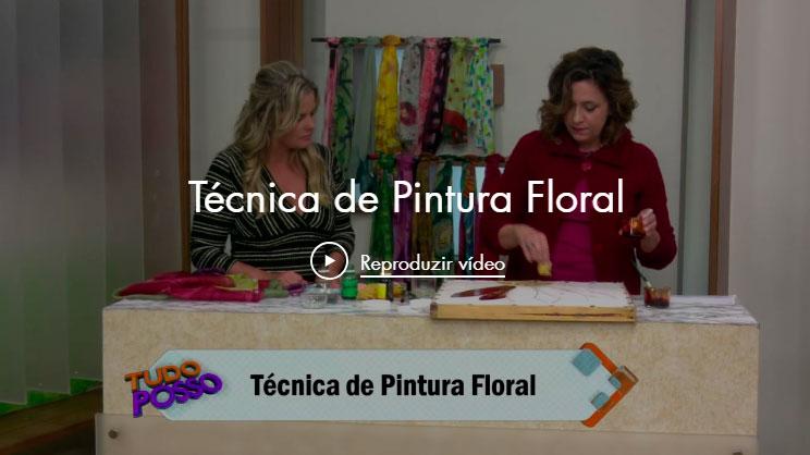 Técnica de Pintura Floral