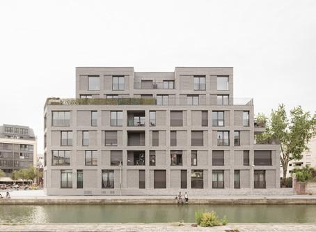 A Pantin : Logements + 1 local d'activités par Avenier-Cornejo Architectes