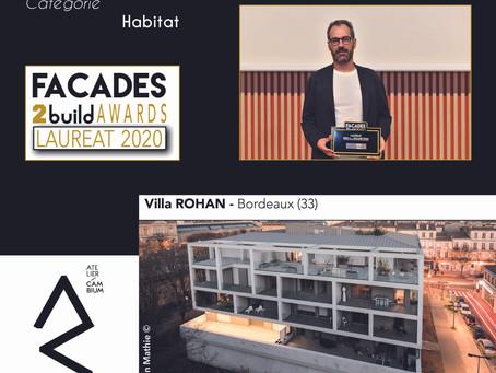 A Bordeaux : Villa ROHAN : Restructuration d'un immeuble en 22 logements par Atelier CAMBIUM