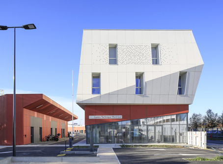 A Blagnac : Centre technique Municipal par NBJ Architectes
