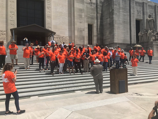 Over 100 Advocates from all over Louisiana Gather at the Capitol for Anti-Hunger Advocacy Day