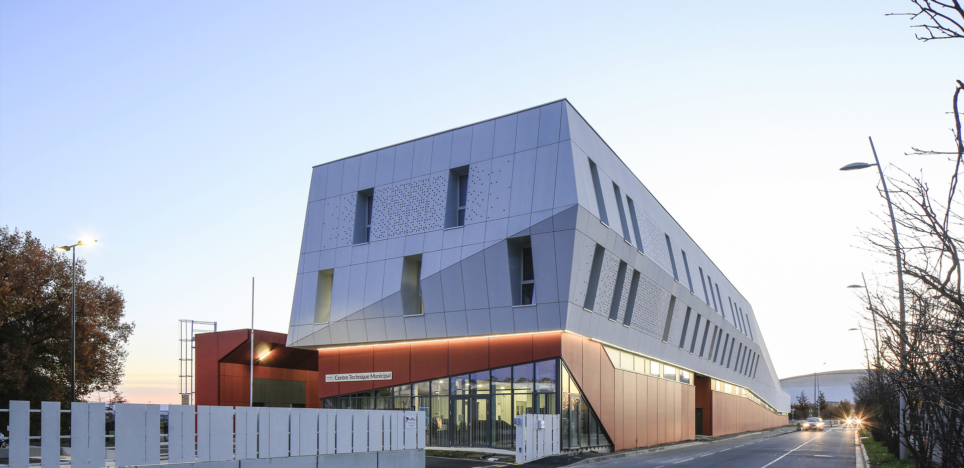NBJ Architectes - Centre Technique Munic