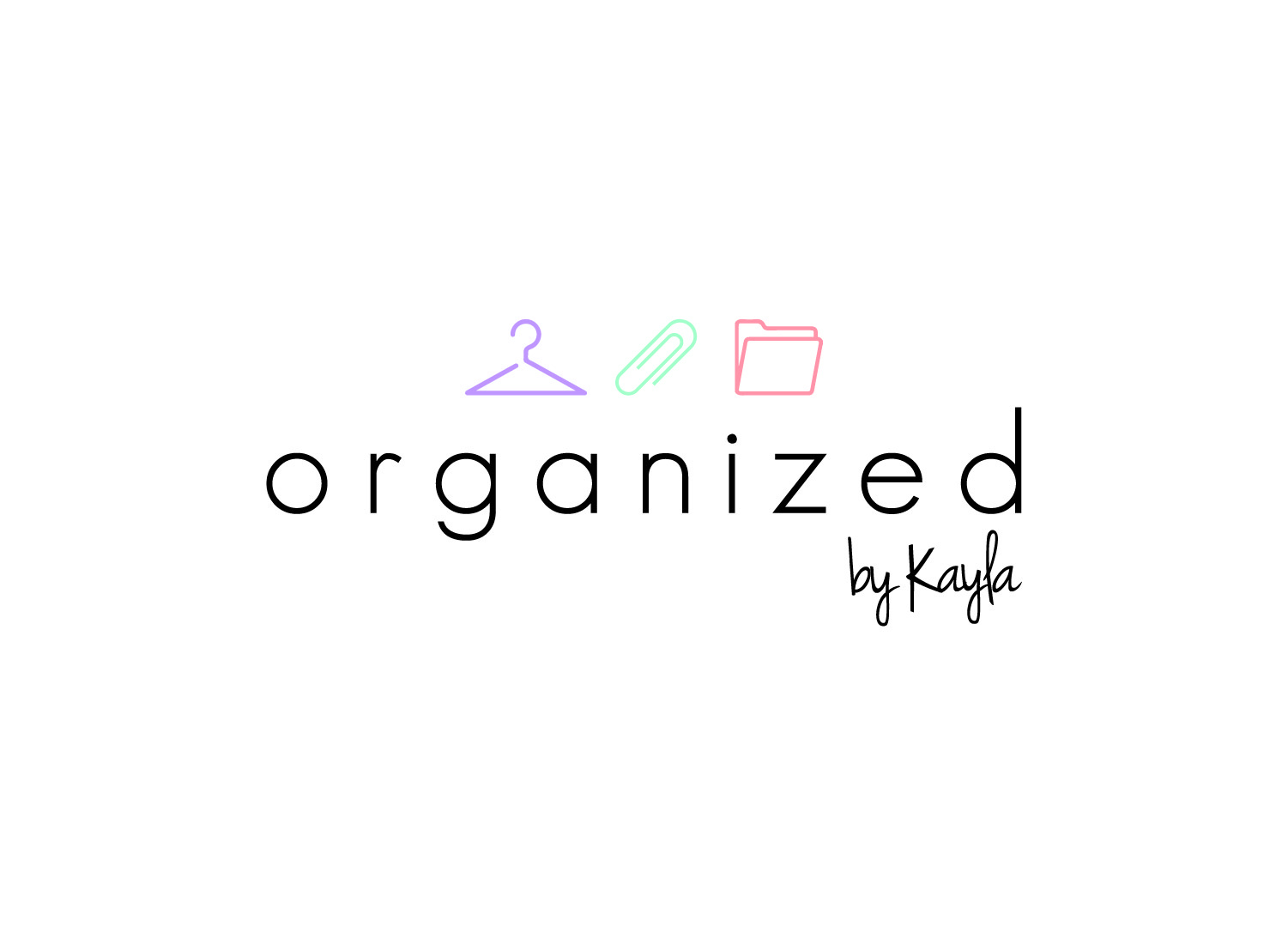 Organized by Kayla Logo