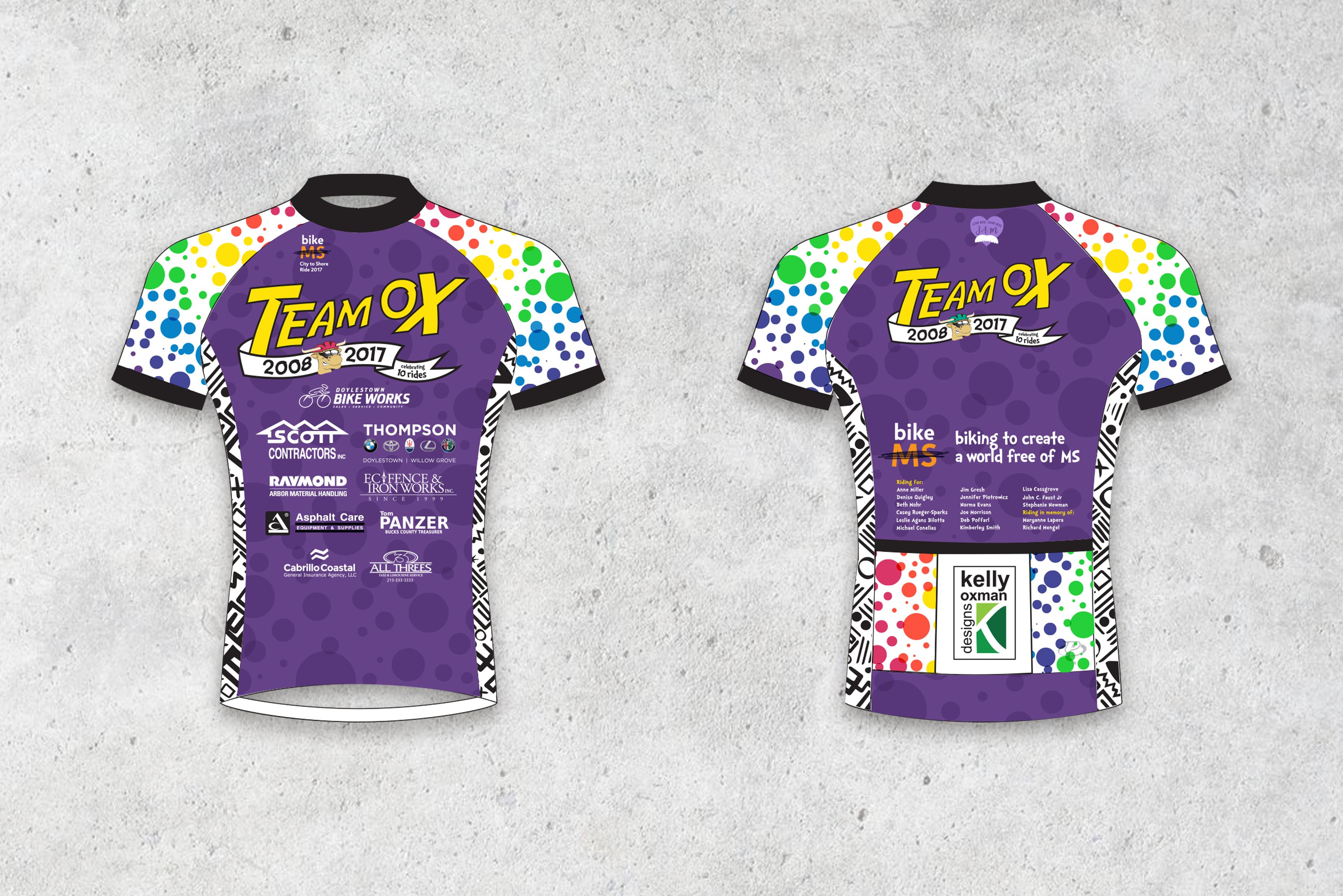 Team Ox 2017 Jersey