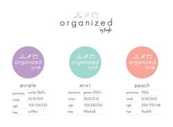 Organized by Kayla Color Palette