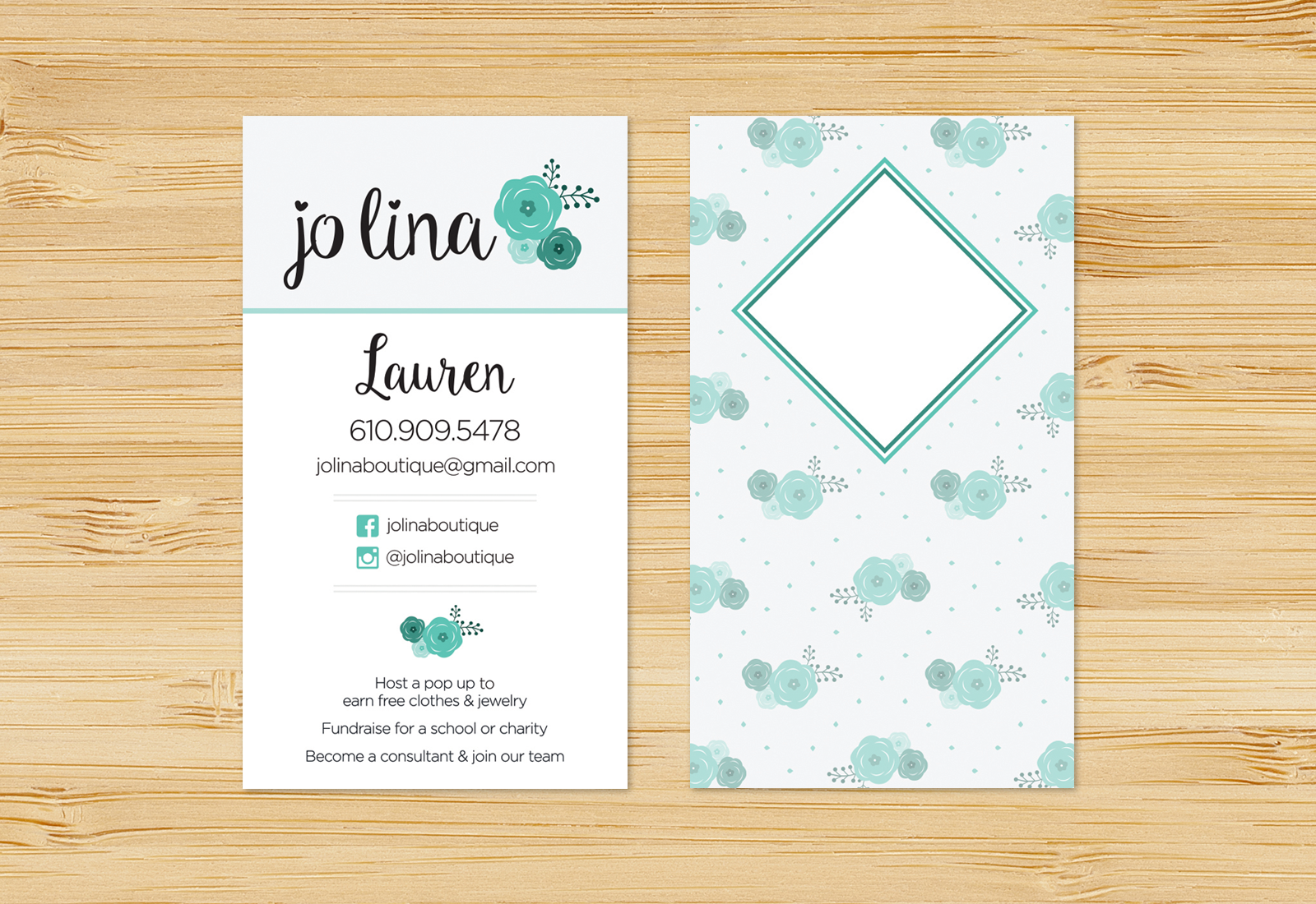 Jo Lina Business Card