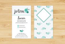 Jo Lina Business Card