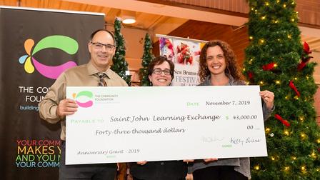 The Greater Saint John Community Foundation's 43rd Anniversary Grant