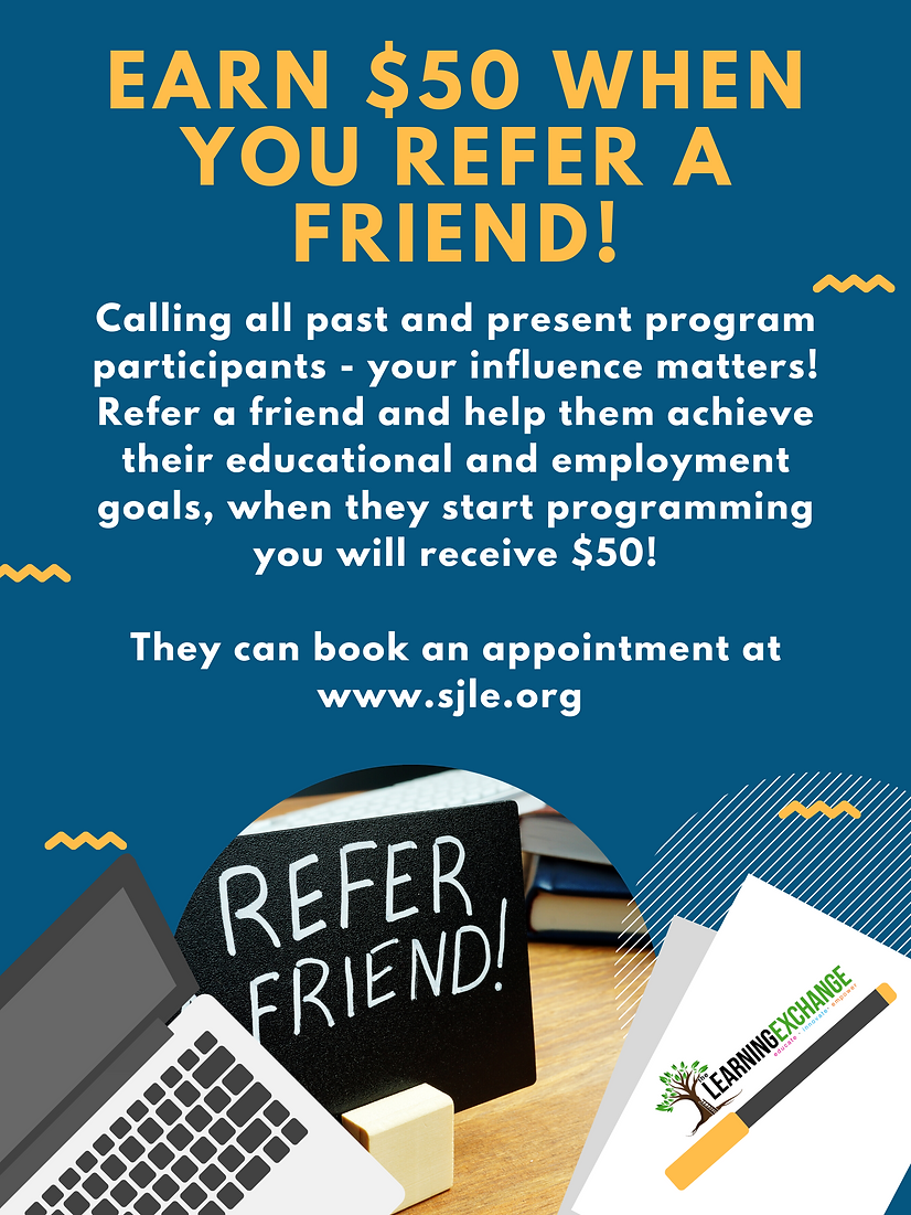 Earn $50 by referring a friend to the le
