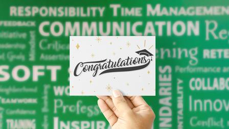 Congratualtions!