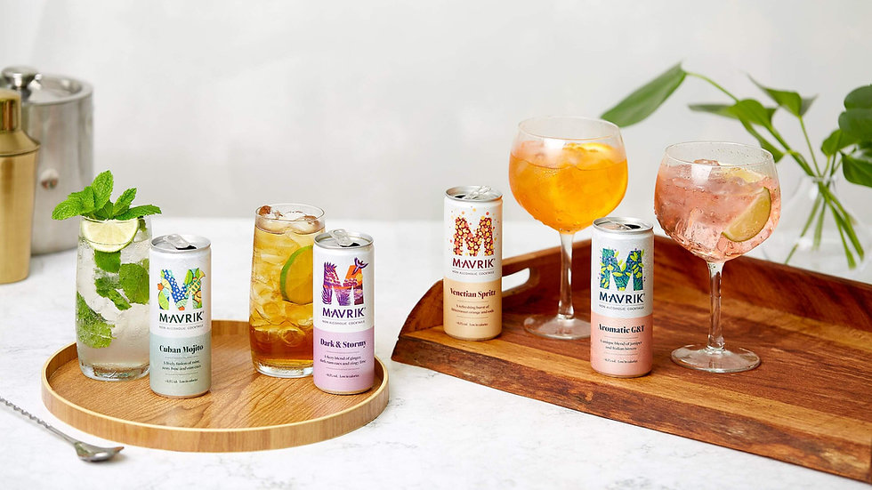 Mavrik Non Alcoholic Cocktails