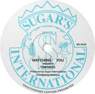 Backatcha record label design by Bret Syfert for Watching You by Oneness