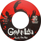 Backatcha record label design recreation by Bret Syfert for Touch The Sky by Grap Luva
