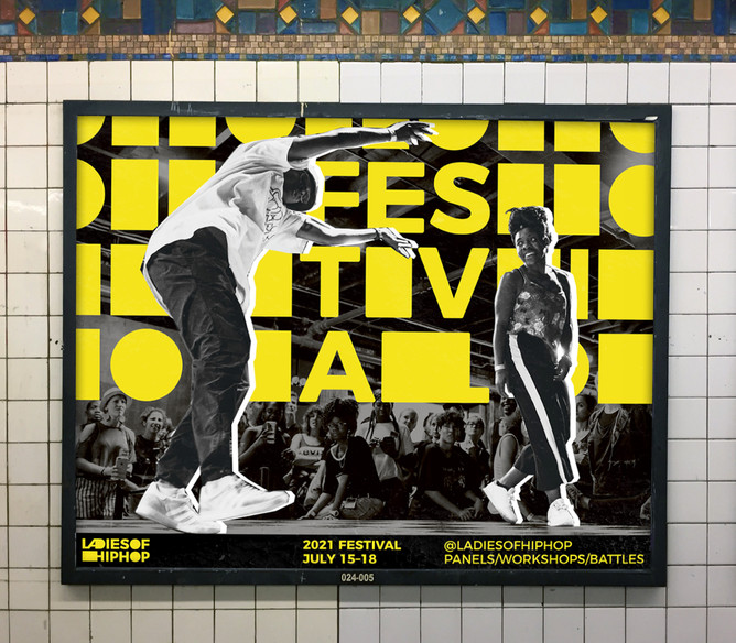 Ladies Of Hip Hop: More than a festival. A multi faceted brand identity by Bret Syfert