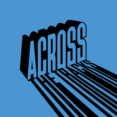 Across The Tracks custom logotype brand identity by Bret Syfert