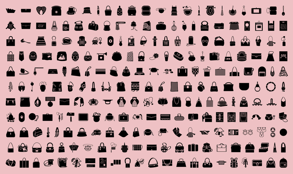 V&A Bags icon illustrations by Bret Syfert