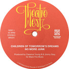 Backatcha record label design by Bret Syfert for Theatre West