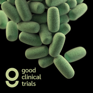 Good Clinical Trials geometric logo brand identity by Bret Syfert