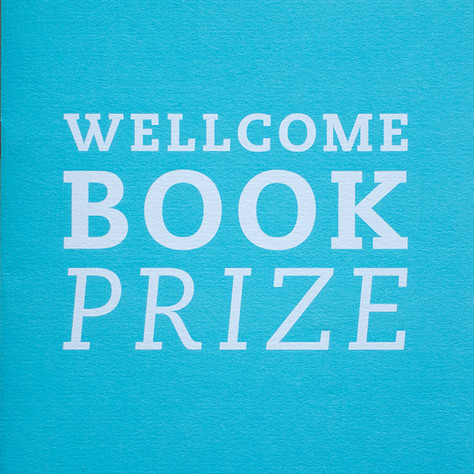 Wellcome Book Prize: Typographic branding identity by Bret Syfert