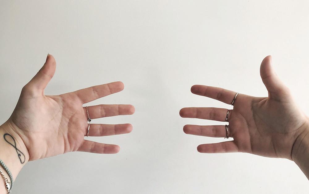 Percevoir l'énergie dans ses mains