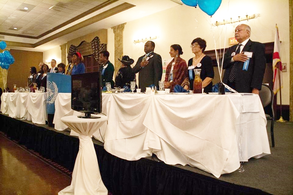 una 2017 Honorees Dais