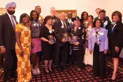 una Honorees and PR Team 2017