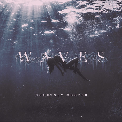 Courtney Cooper - WAVES Album Cover 3000