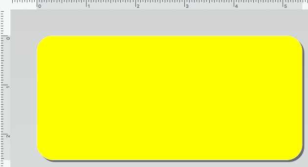 Dymo 30336A Rollo x 500 Etiquetas Amarillas de 25x54mm para DYMO 450   BIOLABELS