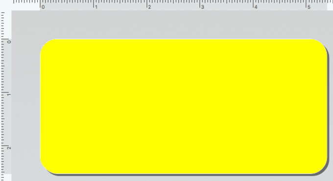Dymo 30336A Rollo x 500 Etiquetas Amarillas de 25x54mm para DYMO 450 | BIOLABELS