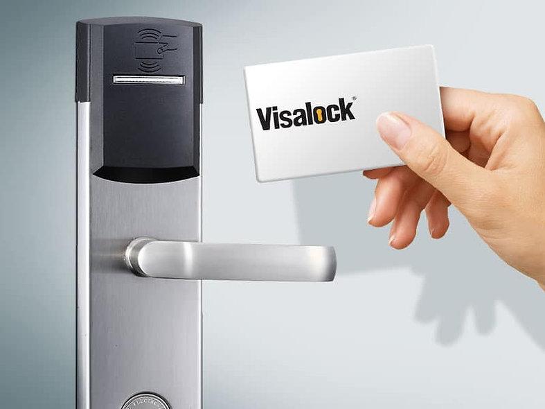 RoomLock VISALOCK   Chapa de Tarjetas para Puerta de Hotel 2000 Registros