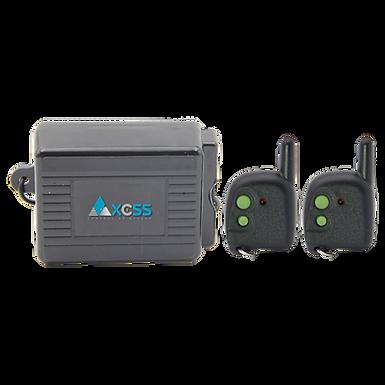 AXCSS Controlador de Puerta Inalámbrico con 2 Controles Remotos a 433 MHz AXWAC