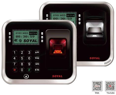 AR837EF SOYAL | Lector y Controlador Stand Alone biométrico para 9,000 huellas