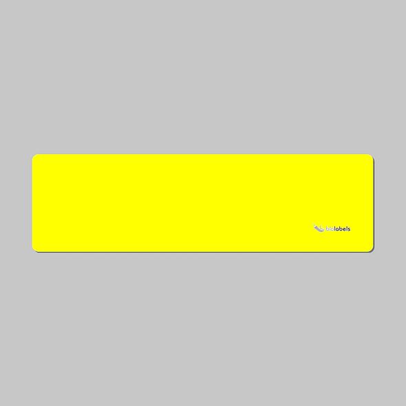 30255 Rollo de 250 Etiquetas Amarilla 28x89 Dymo Compatible   BioLabels