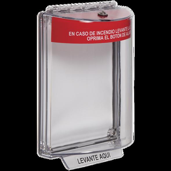 STI-13010FR-ES | Stopper Transparente para Estación de Incendio